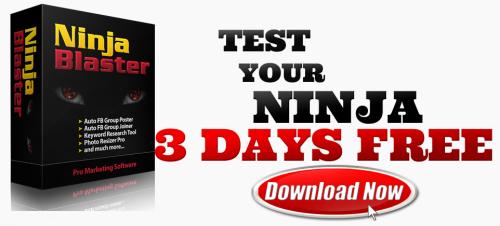 Ninja Blaster - Facebook Auto Poster