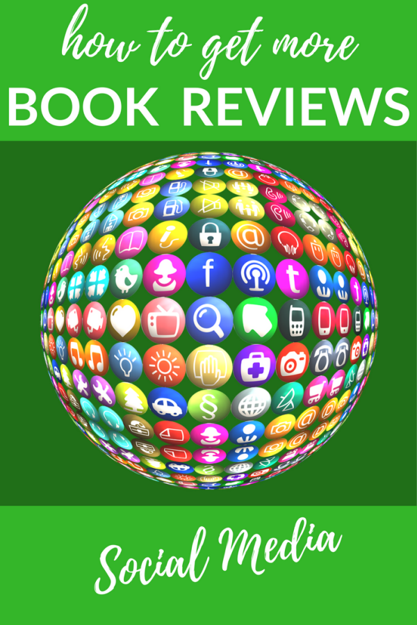 Get more book reviews by using your Social Media channels to the MAX
