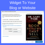 Add The LOOK INSIDE Widget To Your Author Blog or Website