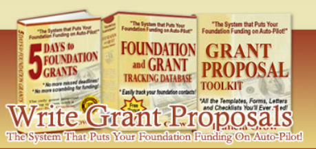 Beginners Grant Writing Kit