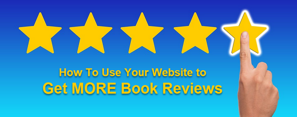 How to ask for book reviews ON your website