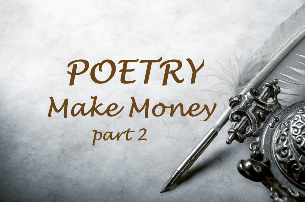 Make Money With Your Poetry, Part 2