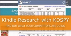 Kindle Research with KDSPY