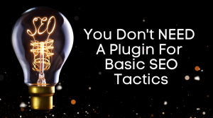 You Don't NEED A Plugin For Basic SEO Tactics On Your Blog or Website